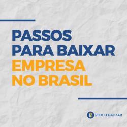Baixar empresa no Brasil