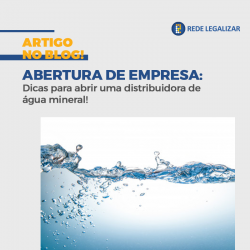 Abrir distribuidora de água mineral