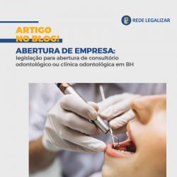 Abertura de empresa consultório odontológico