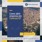 Como abrir empresa em Caieiras/SP