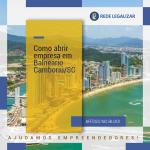 Como abrir empresa em Balneário Camboriú /SC