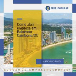 Abrir empresa em Balndeário Camburiu