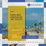 Como abrir empresa em São José