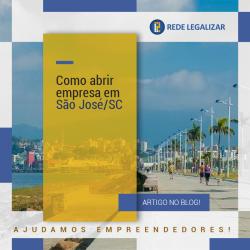 Abrir empresa em São José / SC