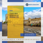 ABERTURA DE EMPRESA: Como abrir empresa em Pelotas / RS